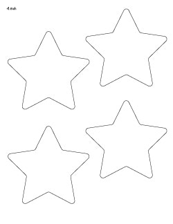 4-inch-rounded-star