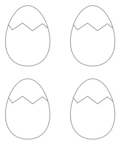 graphic regarding Egg Printable named 25+ Cost-free Printable Easter Egg Templates Easter Egg