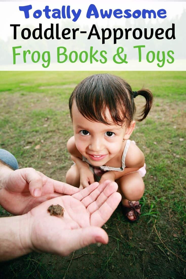 awesome, toddler-approved frog books and toys