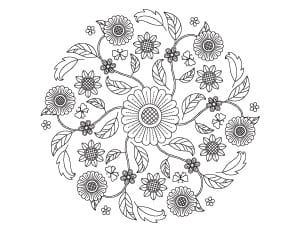 21+ Spring Coloring Pages - Free Printable Spring Adult ...