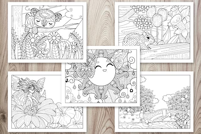- 21+ Spring Coloring Pages - Free Printable Spring Adult Coloring Pages -  The Artisan Life