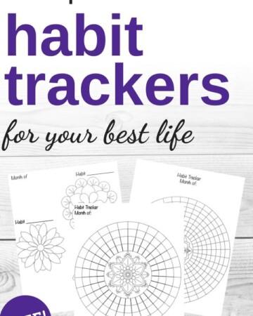 free printable habit trackers for your best life