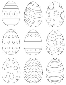 graphic relating to Printable Eggs known as 25+ Totally free Printable Easter Egg Templates Easter Egg