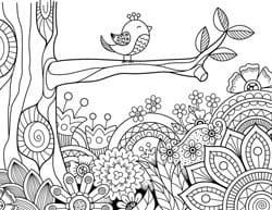 Coloring Pages Kids Springtime Coloring Sheets