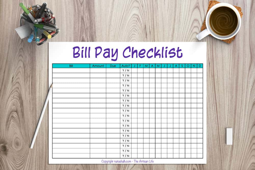bill-payment-checklist-printable