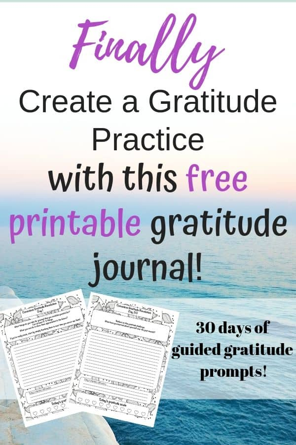 finally feel gratitude with this free printable gratitude journal