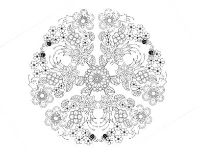 floral-mandala-for-earth-day