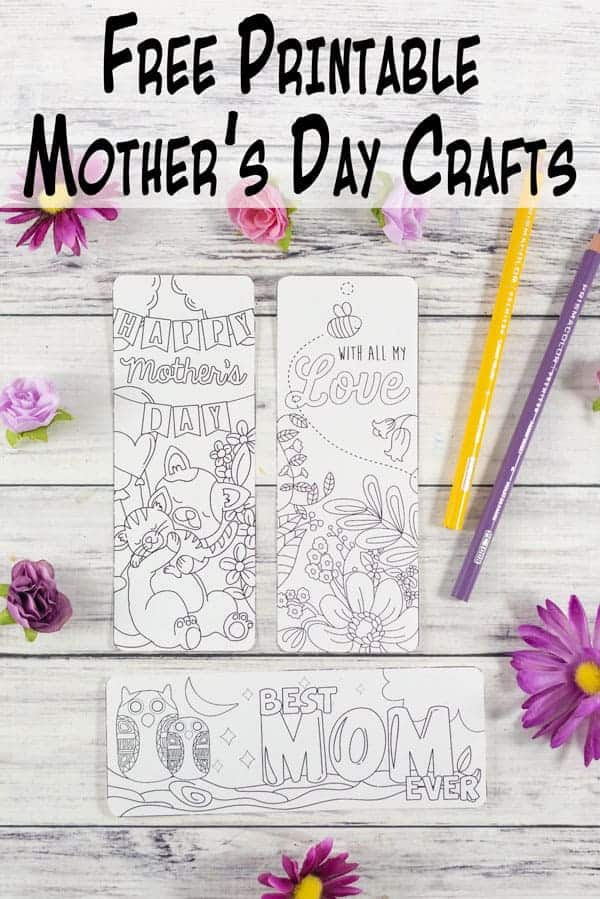photo regarding Printable Mothers Day Cards for Kids named Totally free Printable Moms Working day Playing cards Crafts - The Artisan Everyday living