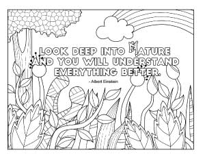 look-deep-into-nature coloring page