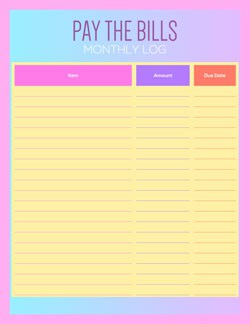 monthly-bill-payment-log-in-color