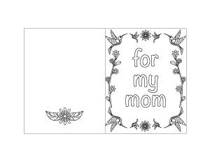 printable mother's day card 4