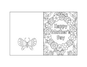 photograph relating to Printable Mothers Day Cards to Color named Free of charge Printable Moms Working day Playing cards Crafts - The Artisan Lifestyle