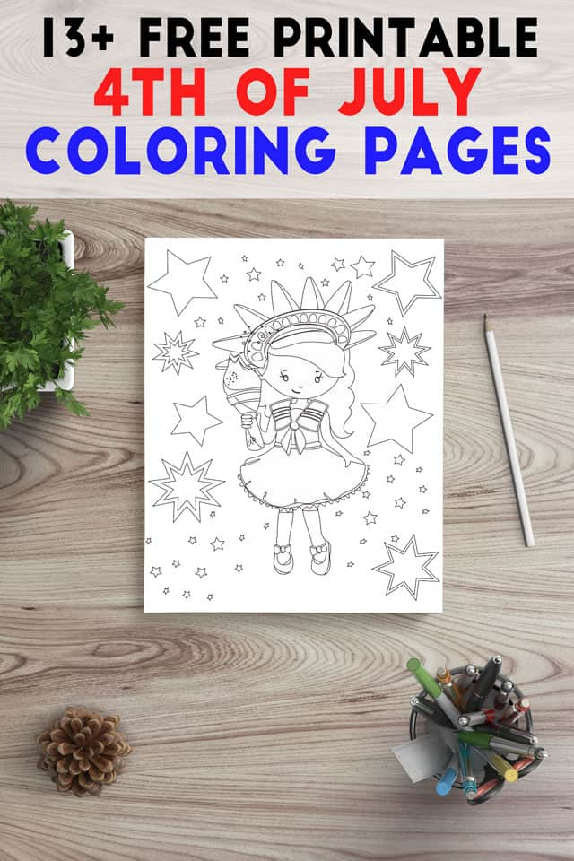 picture about Free Printable 4th of July Coloring Pages named 13+ 4th of July Coloring Webpages for Grown ups - The Artisan Everyday living