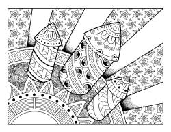 4th-of-july-rockets-coloring-page