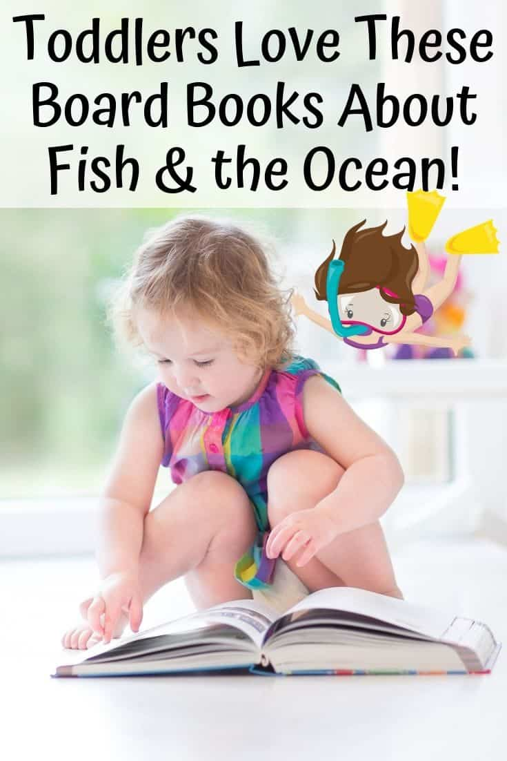 Awesome Fish and Ocean Books Toddlers