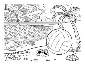 beach-volleyball-coloring-page
