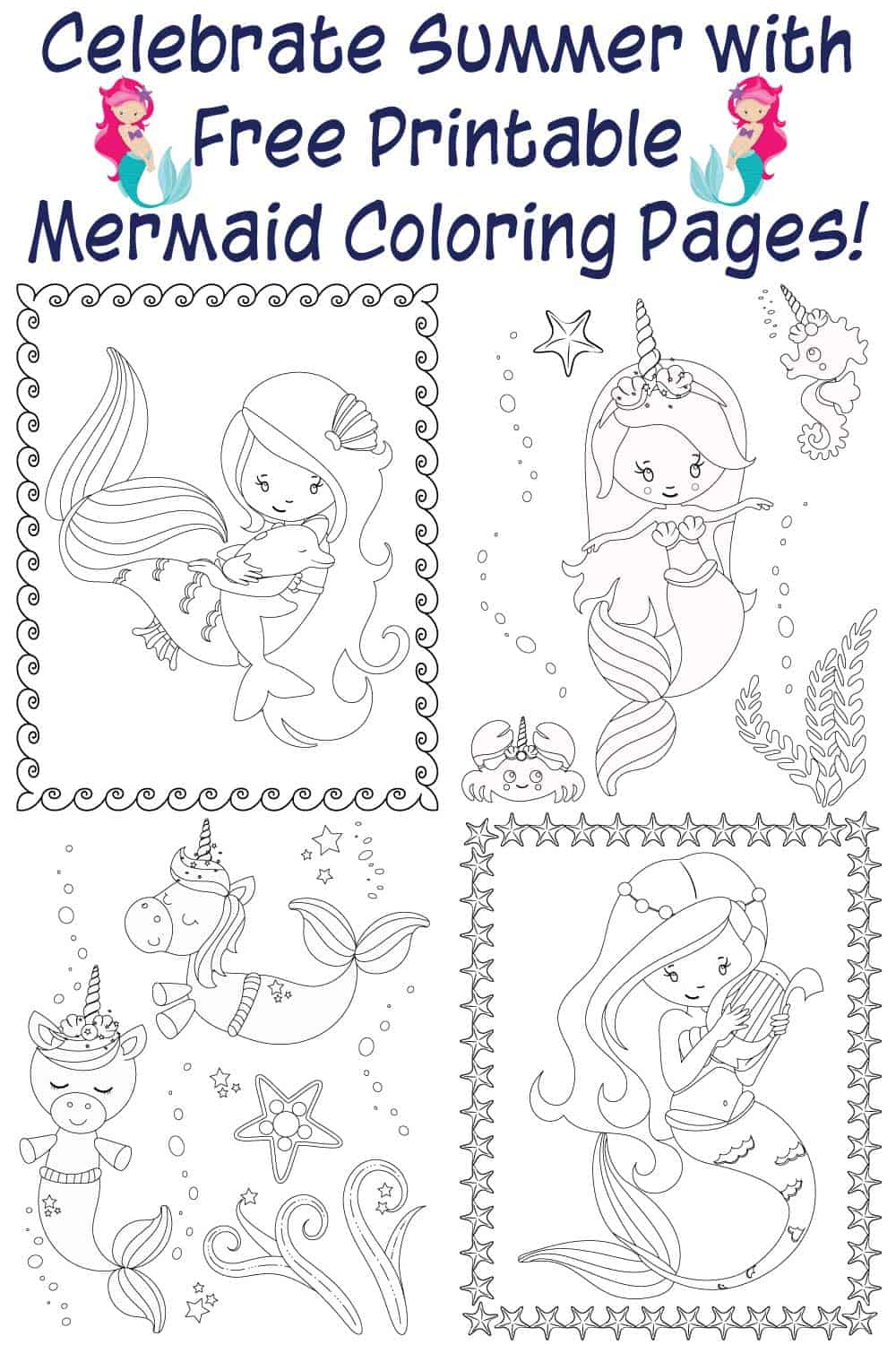 photograph regarding Printable Mermaids named No cost Printable Mermaid Bingo - The Artisan Existence