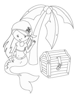 11 Free Printable Mermaid Coloring Pages No Prep Activity For Kids The Artisan Life