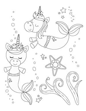 unicorn-mermaids