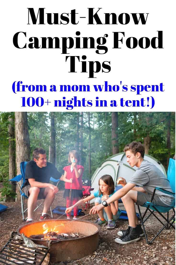 Must-know camping food tips
