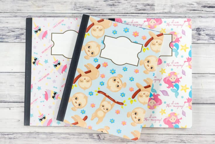 Easy DIY Notebook Cover
