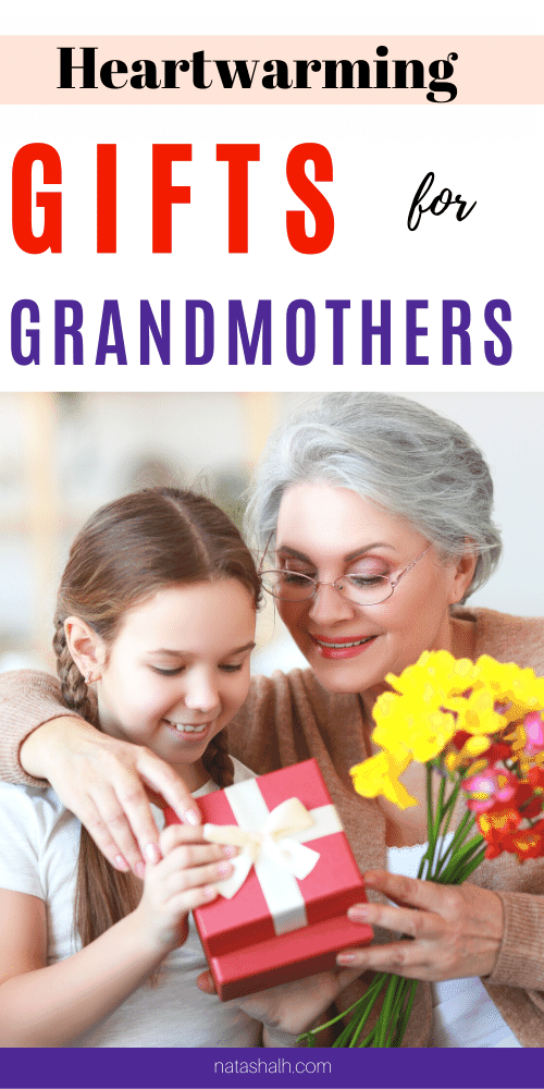 heartwarming gifts for grandmothers