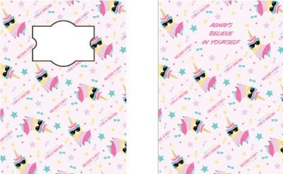 llama-unicorn-notebook-covers