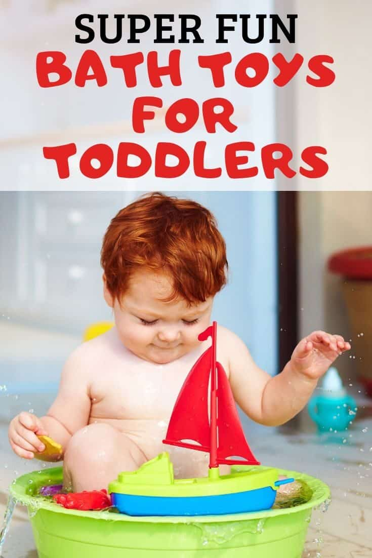 The Best Bath Toys Toddlers (& How to Keep Bath Toys from Growing Mold!)