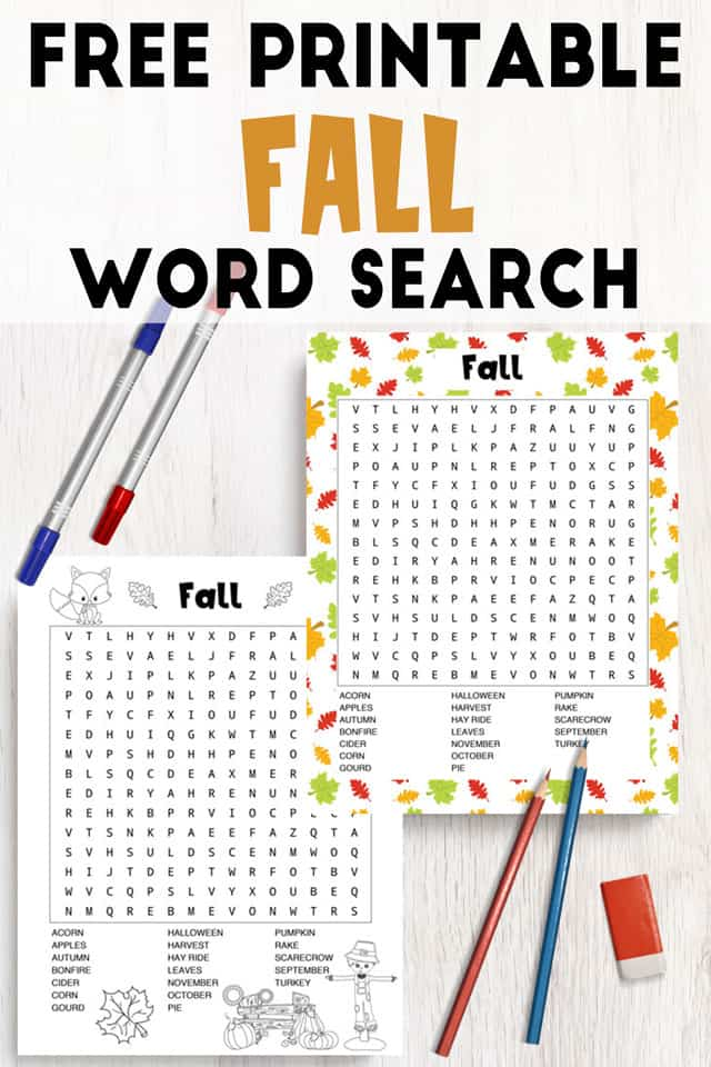 picture relating to Fall Word Search Printable referred to as No cost Printable Drop Phrase Glimpse (coloration black and white