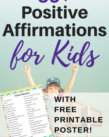 35+ positive affirmations for kids