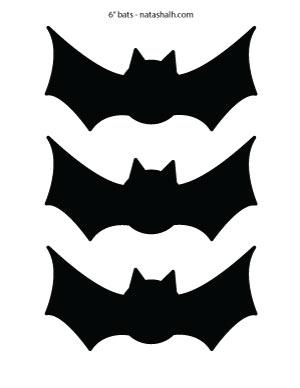 """6"""" filled bats"""