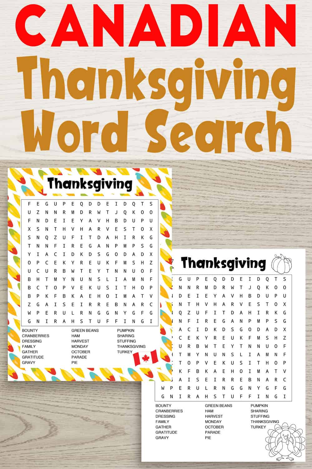 Canadian-thanksgiving-word-search