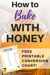 how to bake with honey