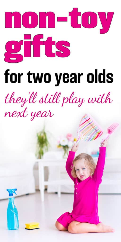 non toy gifts for two year olds