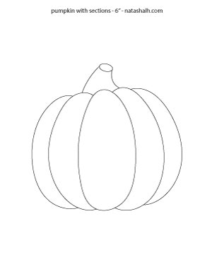 pumpkin-with-segements-6-inch
