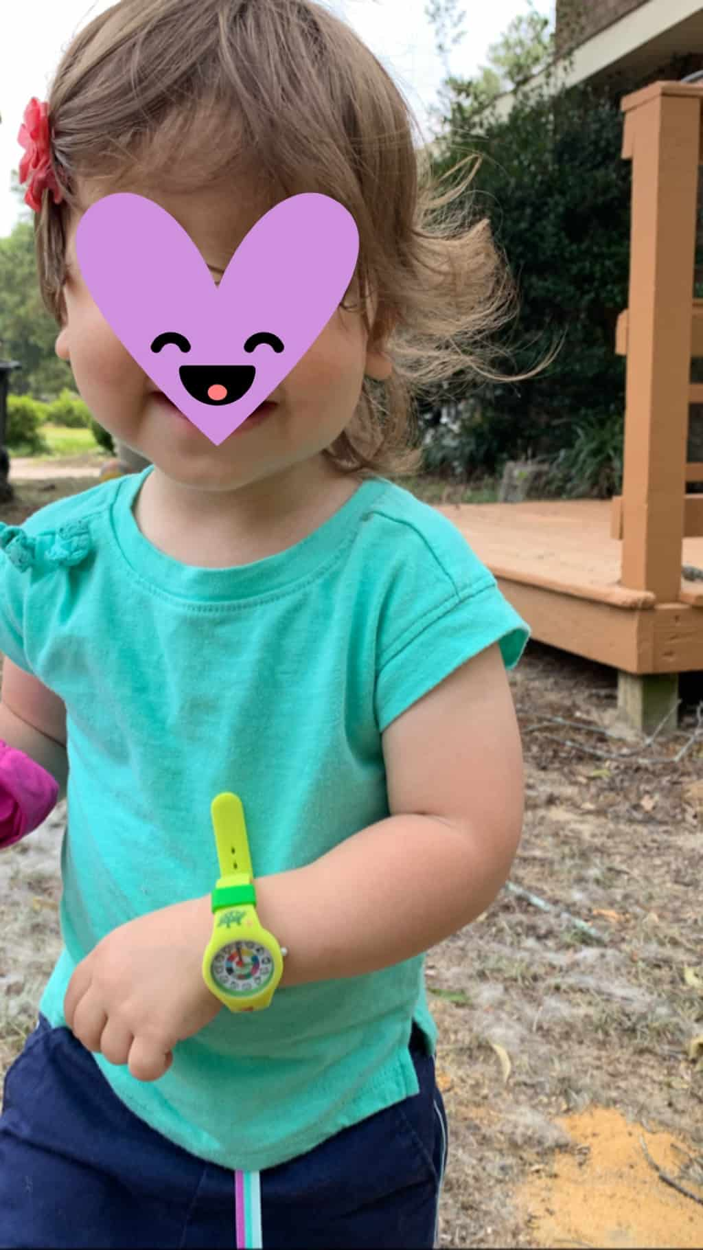 toddler with a Preschool Watch