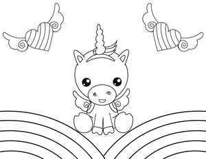 20 Free Printable Unicorn Coloring Pages The Artisan Life