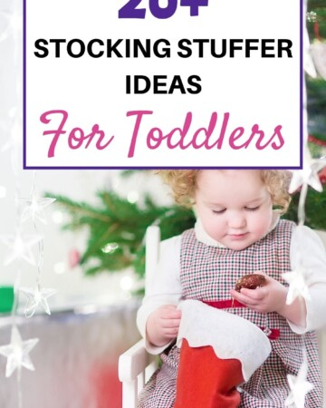 20+ stocking stuffer ideas for toddlers
