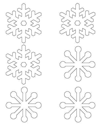 3-inch-simple-snowflakes
