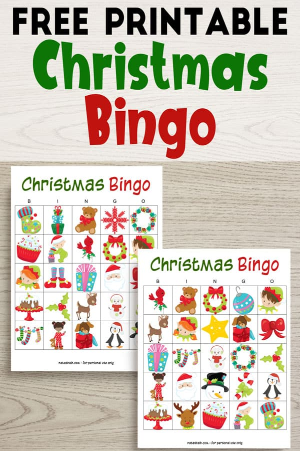Free Printable Christmas Bingo The Artisan Life