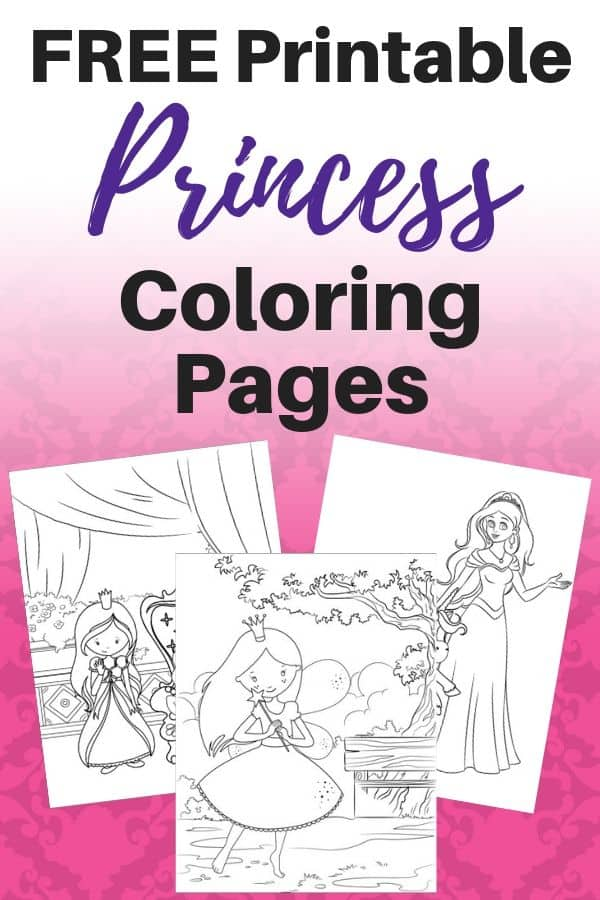 - 25+ Free Printable Princess Coloring Pages - The Artisan Life