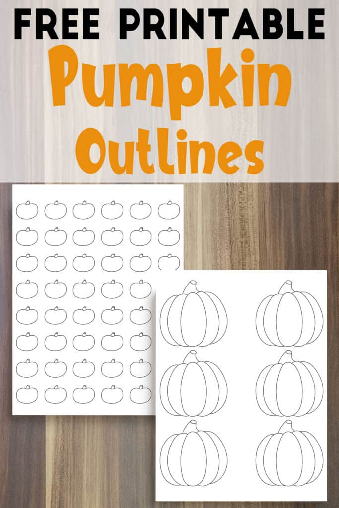 picture relating to Pumpkin Outlines Printable called 24 Cost-free Pumpkin Determine Printables - The Artisan Lifestyle
