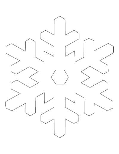 large-classic-snowflake-template