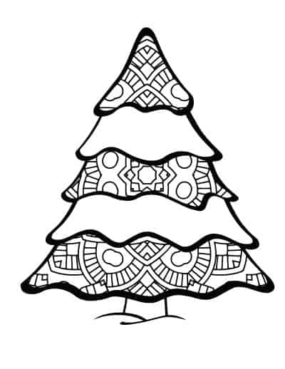 layered-Christmas-tree-adult-coloring-page