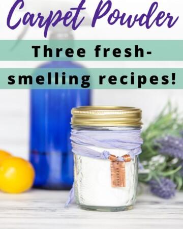 non-toxic carpet powder recipes