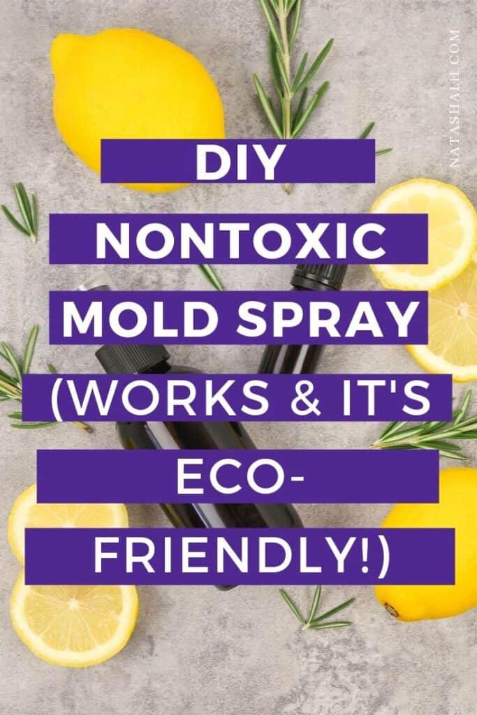 nontoxic mold spray