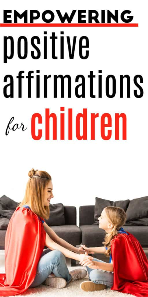 positive affirmations for children