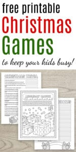free printable christmas games to keep your kids busy