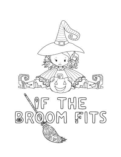 if the broom fits cute witch