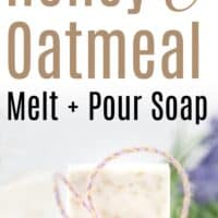 Moisturizing Oatmeal Honey Soap for Dry Skin - The Artisan Life